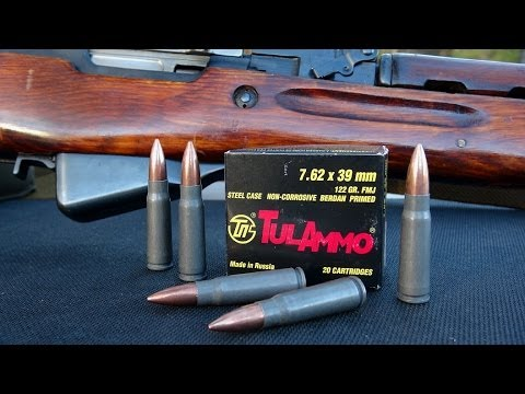 Ammo Review – TULA 7.62x39mm