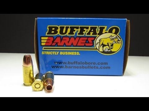 Ammo Test - Buffalo Barnes 9mm +P+ 115 Grain