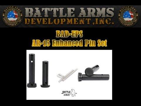Battle Arms Development BAD-EPS Enhanced Pins Set for AR-15 Rifles
