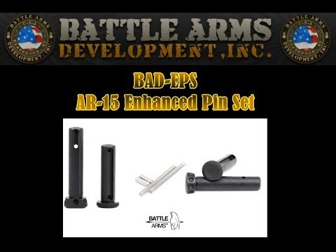 Battle Arms Development BAD-EPS Enhanced Pins Set for AR-15 Rifles