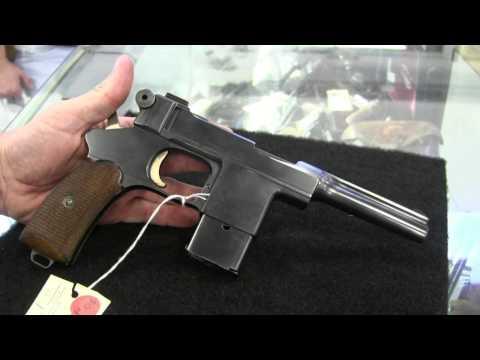 Bergmann Mars 1903 Pistol