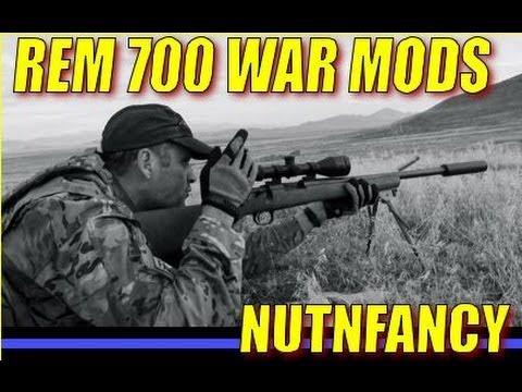 Remington 700 Modifications - War Mods