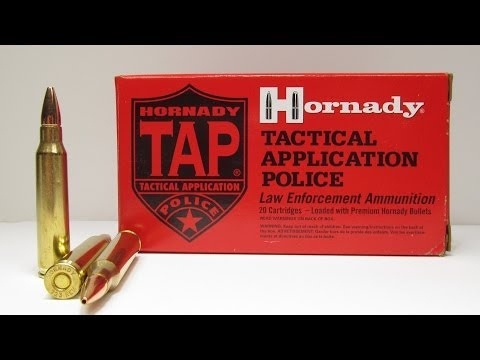 Ammo Test – Hornady Tactical Application Police 223 Remington