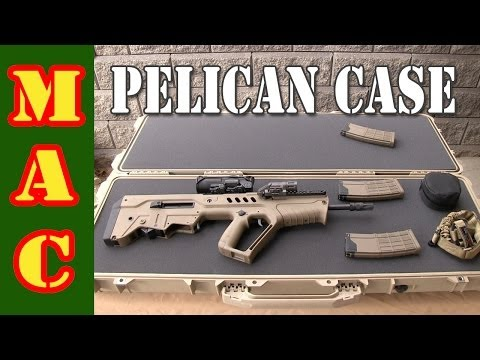 Customizing a Pelican Gun Case