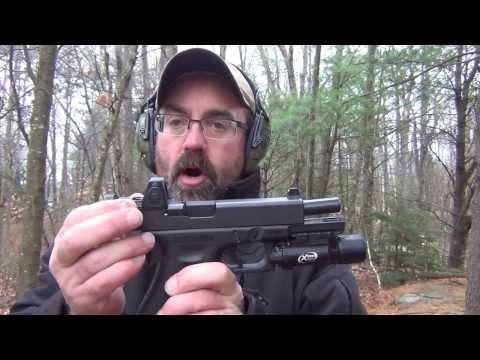 Glock 17 Gen 4 with Trijicon RMR Red Dot