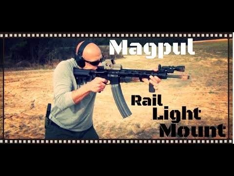 Magpul Rail Light Mount Review