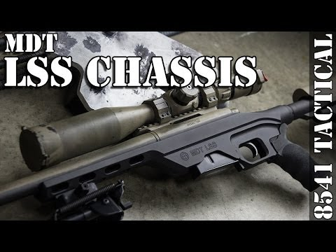 MDT LSS Chassis Installation on Remington 700