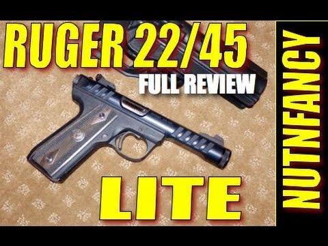 Ruger 22/45 Lite Rimfire Pistol