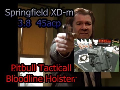 Springfield XDm and Pitbull Tactical Bloodline Holster