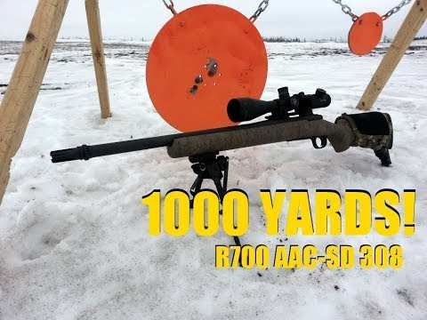 1K Yard Remington AAC-SD Rifle Build