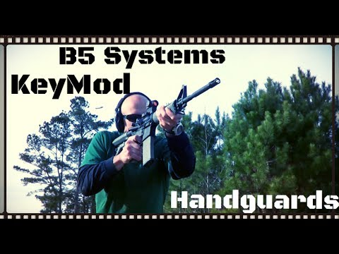 B5 Systems KeyMod Handguard