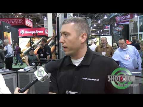 SHOT Show - ArmaLite AR-31 and Surgeon Rifles Concealable Sniper Rifle