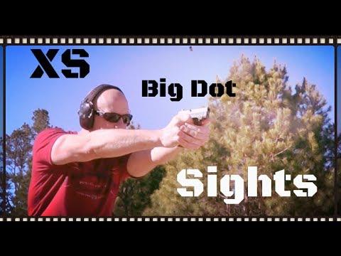 XS Big Dot Handgun Sights