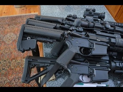 AR-15 Buttstocks - Magpul and Vltor