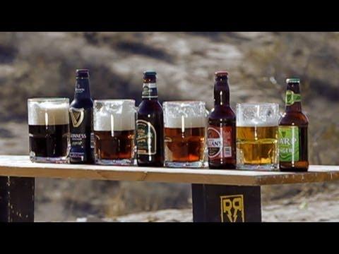 50 Caliber Bullet vs Beer
