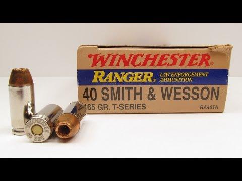 Ammo Test – Winchester Ranger 40 S&W