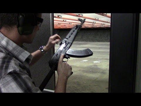 Century M70AB2 Rifle Range Test