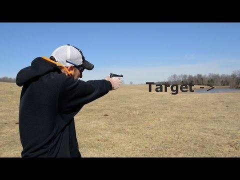 Colt Woodsman 22LR Pistol 500 Yard Shot