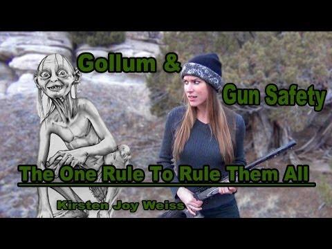 Gun Safety with a Hobbit Twist