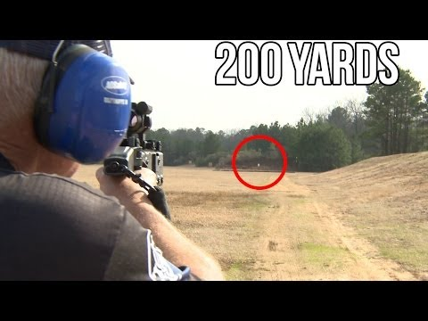 Kriss Vector Pistol at 200 Yards