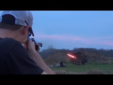 Shooting an Egg with a Tracer at 100 Yards