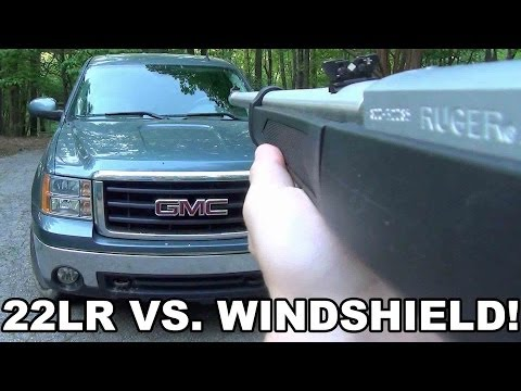 22LR vs Windshield