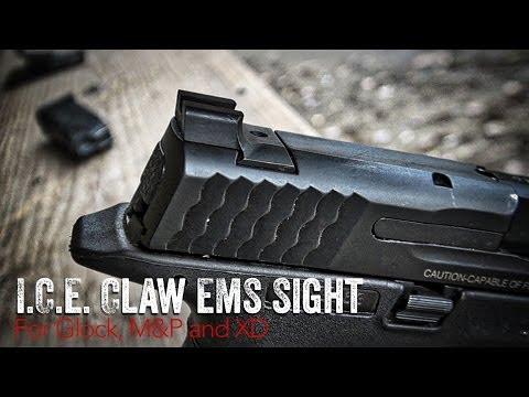 I.C.E. CLAW EMS Rear Sight