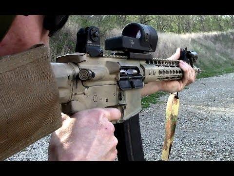 Trijicon Reflex RX30 Range Test