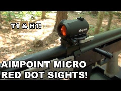 Aimpoint Micro Red Dot Sights
