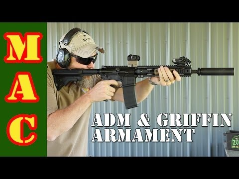 American Defense Manufacturing AR-15 Rifle