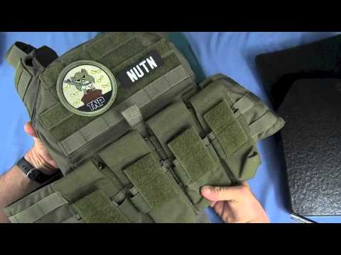 Shellback Tactical Banshee Quick Deployment Rifle Plate Carrier