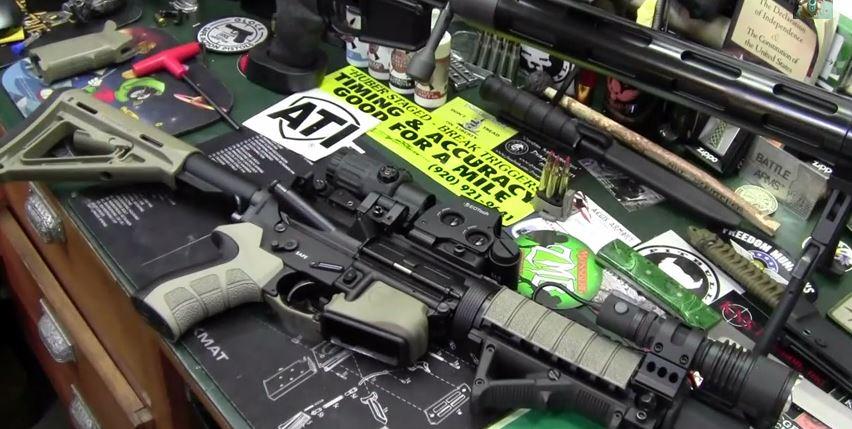 ATI AR-15 X2 Scorpion Recoil Pistol Grip
