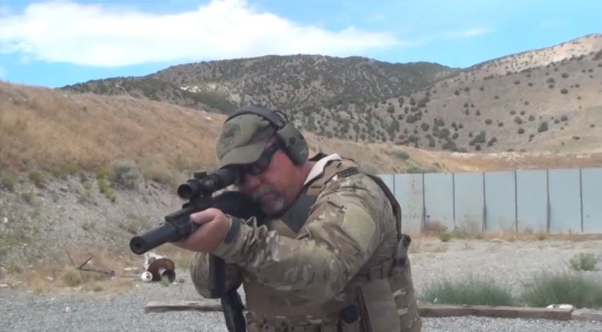 Daniel Defense MK18 SBR Range Demo