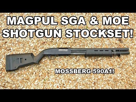 Mossberg 590A1 Shotgun with Magpul Stock Set