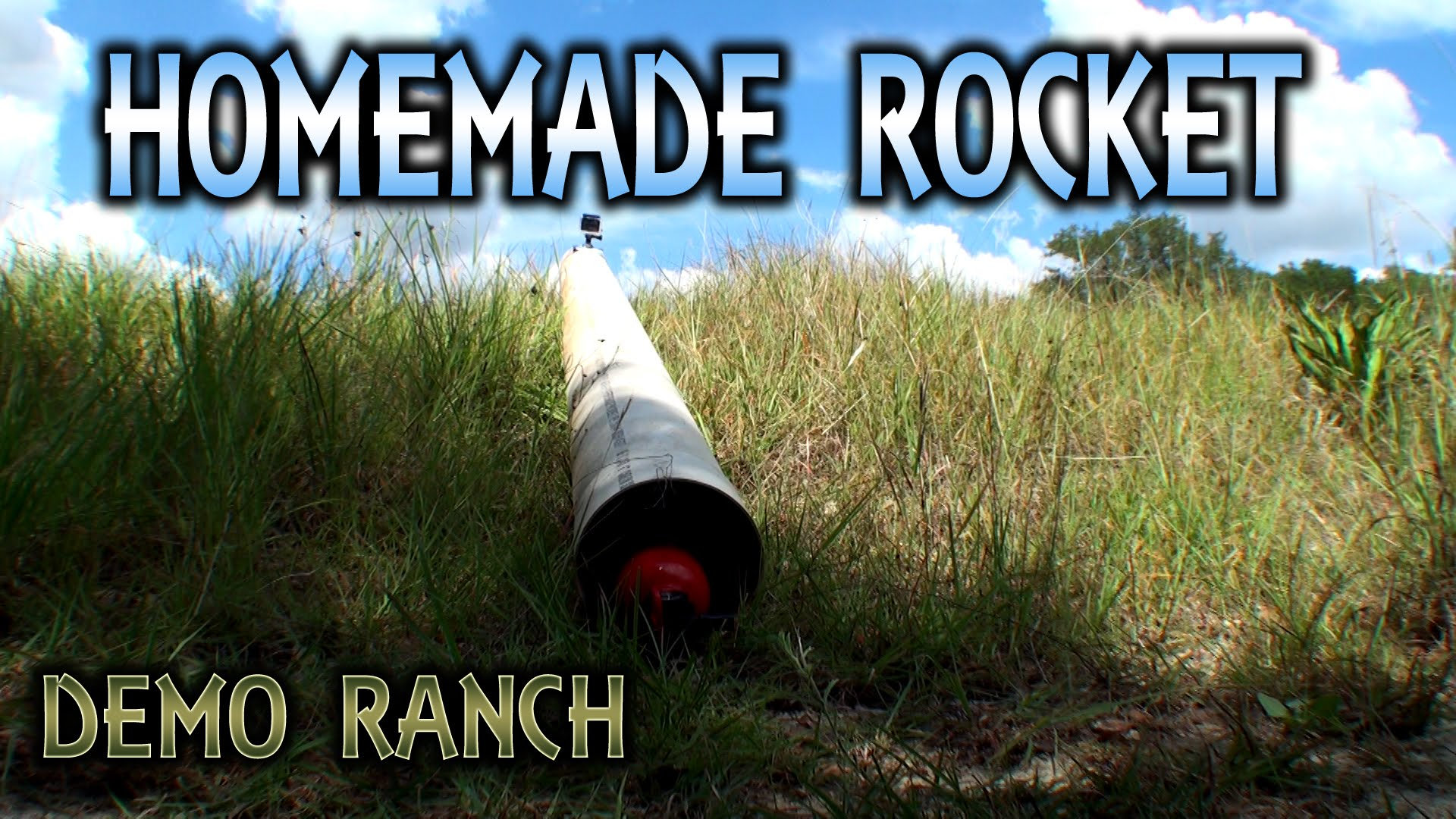 Mossberg Shotgun Ignited Fire Extinguisher Rocket
