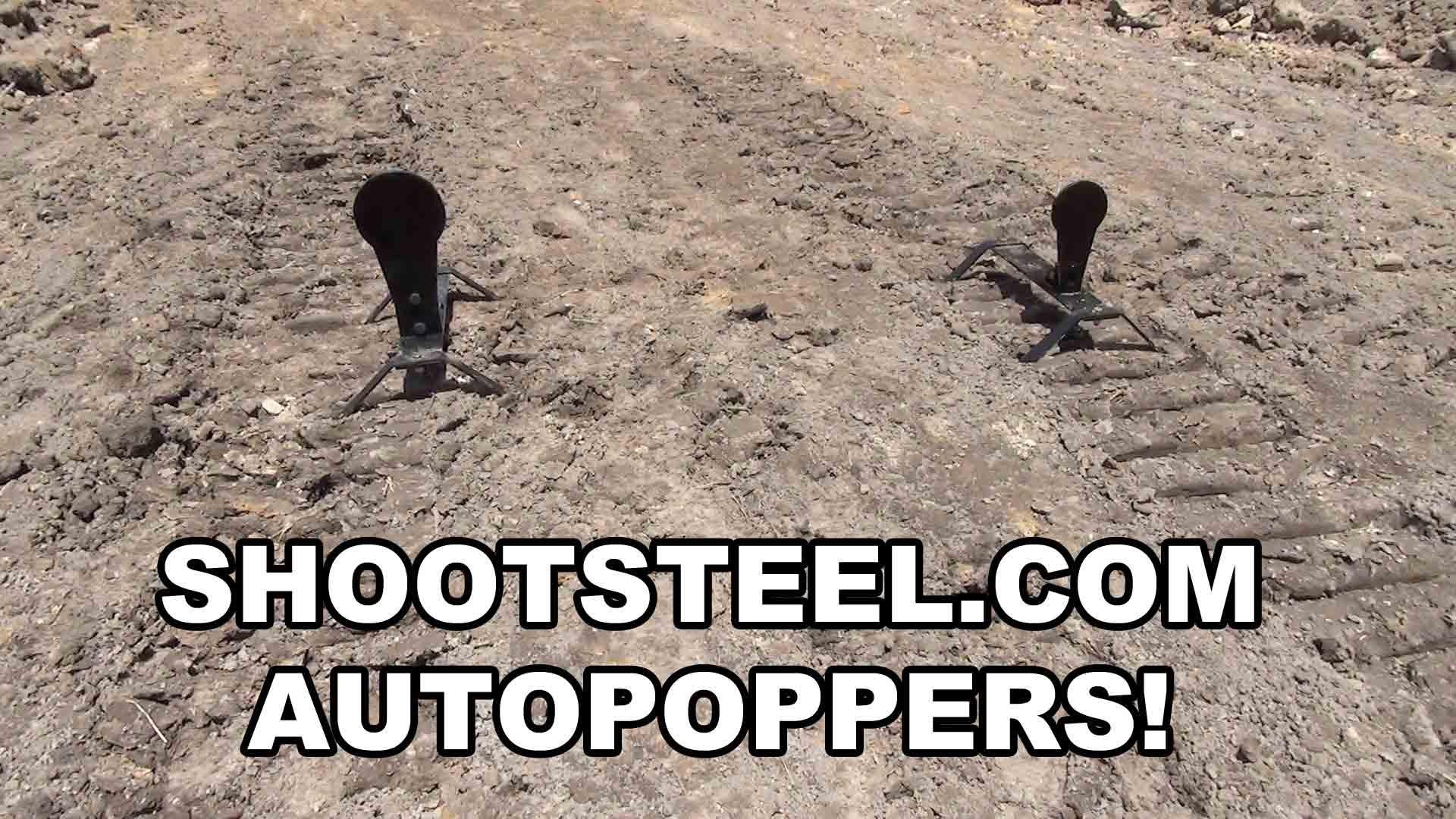 ShootSteel AutoPopper Targets
