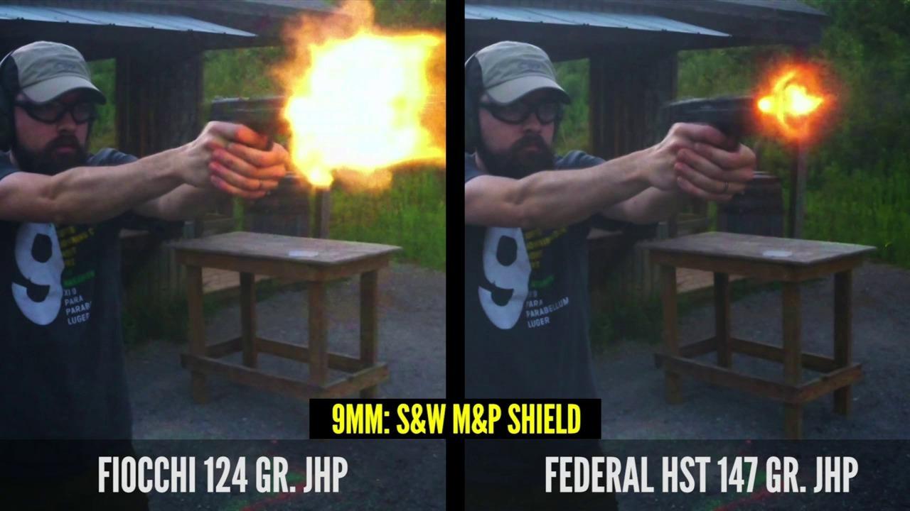 Standard vs Low Flash Ammo