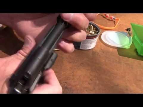 Suppressed Beretta 21A