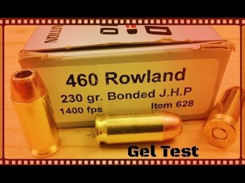 Underwood Ammo 460 Rowland Ammo Test