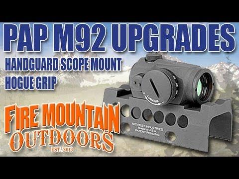 Zastava PAP M92 Pistol Upgrades