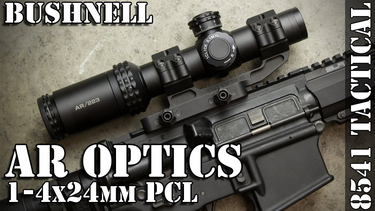 Bushnell 1-4x24 AR Optics 30mm Rifle Scope
