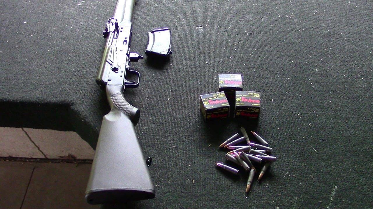Saiga IZ-132 Rifle Range Demo