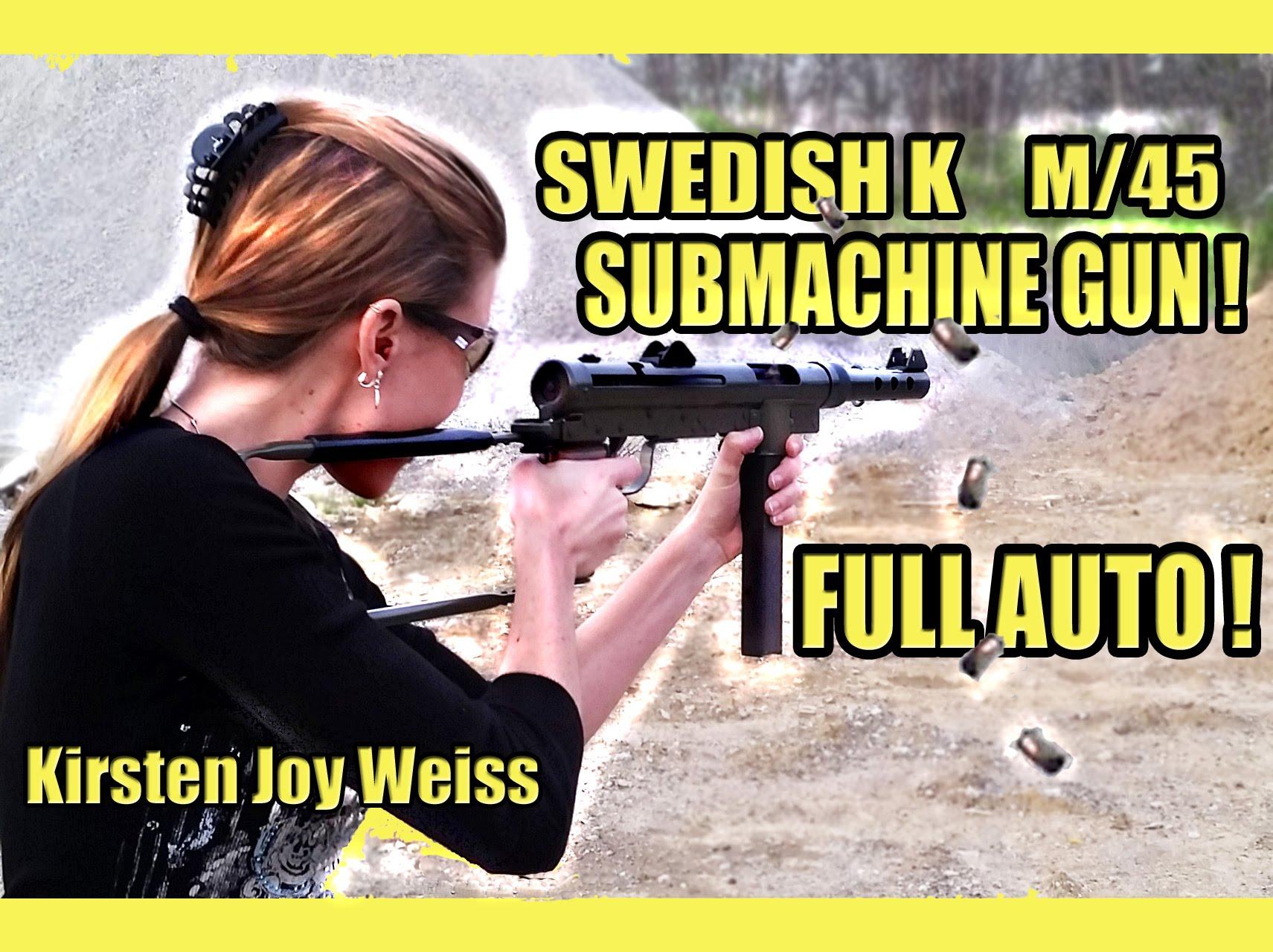 Swedish K Submachine Gun