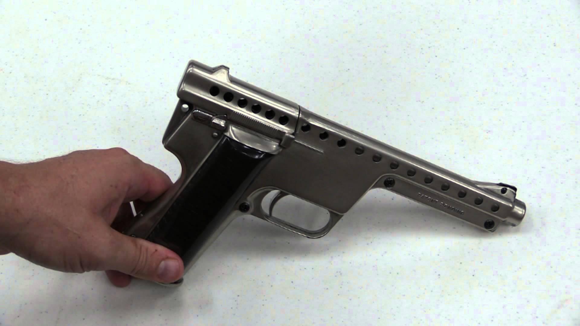 Gyrojet Rocket Pistol