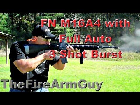 FN M16A4 3 Round Burst