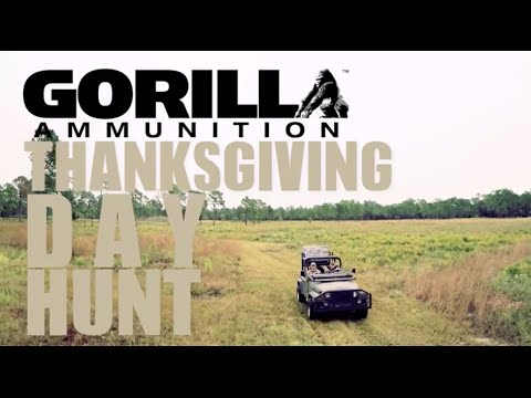 Gorilla Ammunition Thanksgiving Hunt