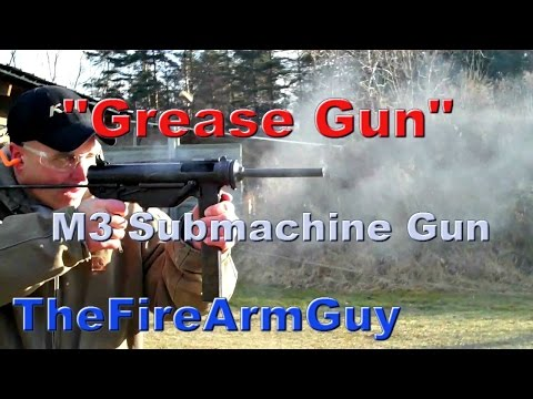 M3 Submachine Gun
