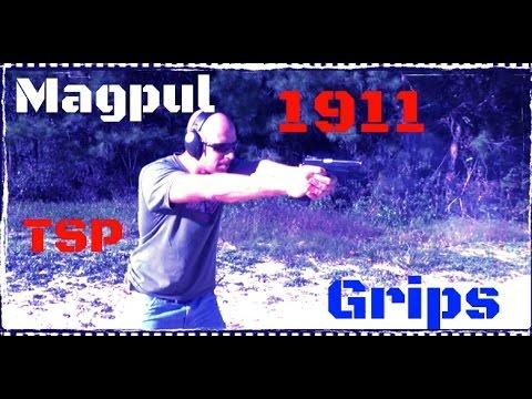 Magpul MOE 1911 TSP Textured Grip Panels