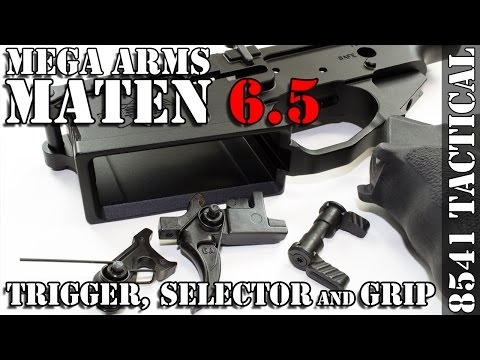 Mega Arms Megalithic MATEN 6-5 Creedmoor Build