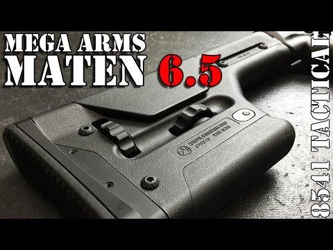 Mega Arms Megalithic MATEN 6.5 Creedmoor Build
